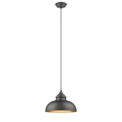 Bouvet Industrial 1-Light Mini Pendant