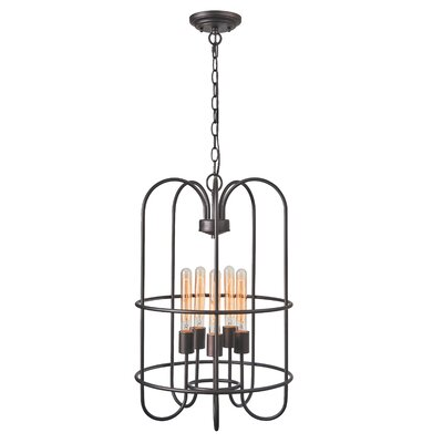 Bouvet Industrial 5-Light Foyer Pendant