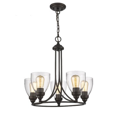 Durst Transitional 5-Light Mini Chandelier