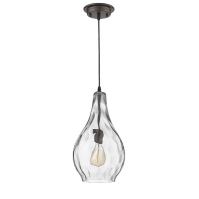 Wells Transitional 1-Light Mini Pendant