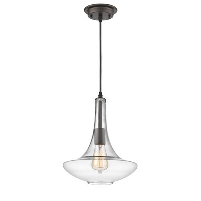 Dominguez Transitional 1-Light Mini Pendant