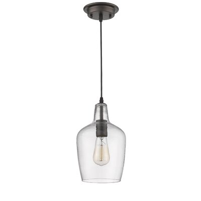 Welsh Transitional 1-Light Mini Pendant
