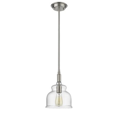 Dusek Transitional 1-Light Mini Pendant