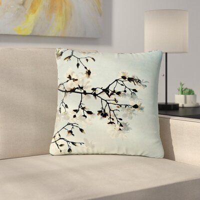 Bloom Photography Nature Outdoor Throw Pillow Size: 16 H x 16 W x 5 D