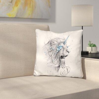 Lion Soul Throw Pillow