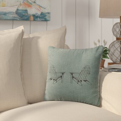 Bingaman Throw Pillow Color: Ocean