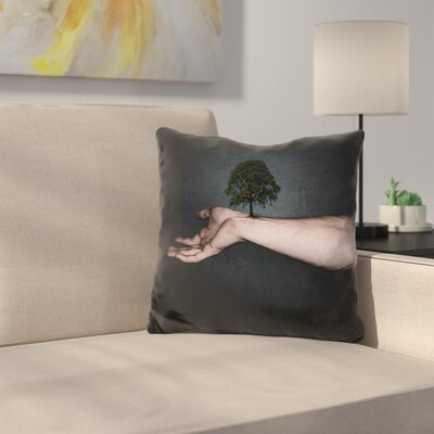 Nature Inside Me Throw Pillow