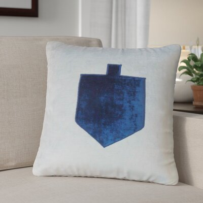 Holiday Cotton Throw Pillow with Zipper