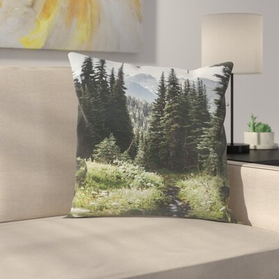 Luke Gram Garibaldi Canada Throw Pillow Size: 14 x 14