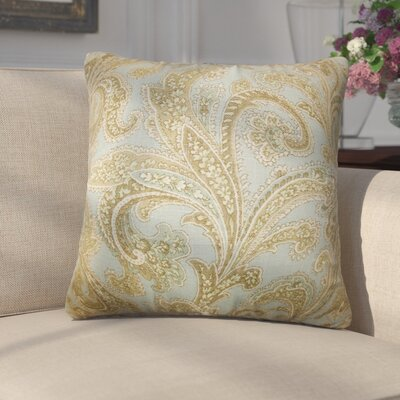 Giuliano Floral Linen Throw Pillow
