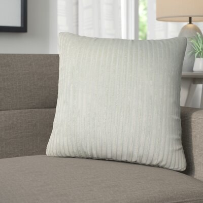 Galilea Solid Throw Pillow Color: Aquamarine