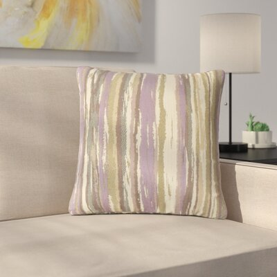 Spero Throw Pillow Color: Lavender, Size: 22 x 22
