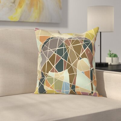 Modern Elephant Pillow Cover Size: 18 x 18