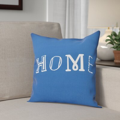 Scotland Home Throw Pillow Size: 16 H x 16 W, Color: Blue