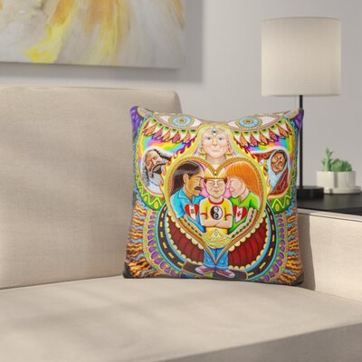 God of Healing Throw Pillow
