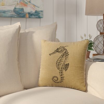 Bissell Throw Pillow Color: Straw