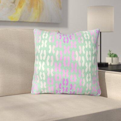 Butterfly Elements II by Dan Sekanwagi Throw Pillow Size: 26 H x 26 W x 5 D