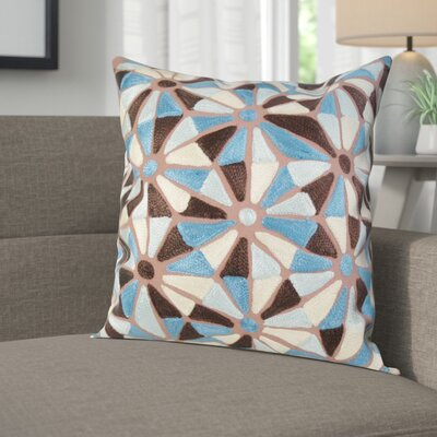 Voyles Square Decorative 100% Cotton Pillow Cover