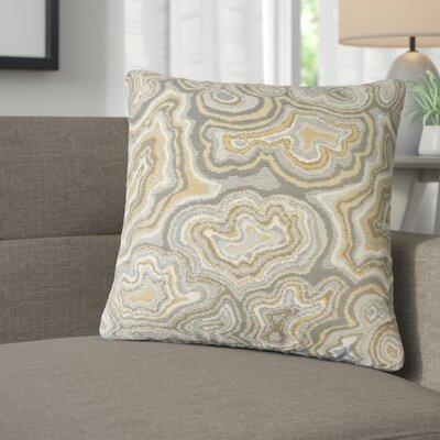 Nathaly Graphic Cotton Throw Pillow