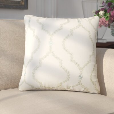 Goddard Geometric Throw Pillow Color: Seagreen