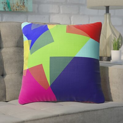 Fetzer Blocks Accent Throw Pillow Size: 18 x 18