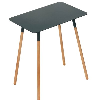Coelho End Table Table Top Color: Black
