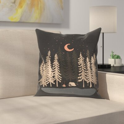 Feeling Small Throw Pillow Size: 18 x 18