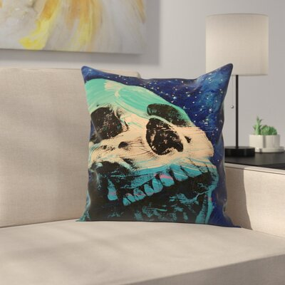 Zombie Stars Throw Pillow Size: 16 x 16