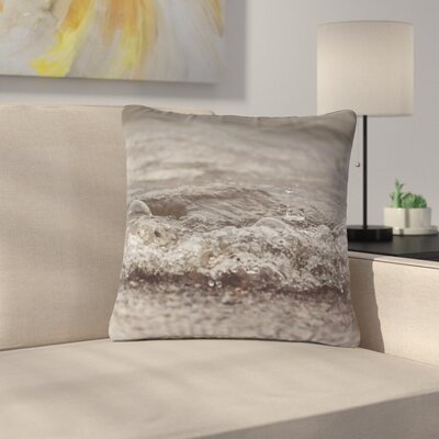 Angie Turner Beach Bubbles Coastal Outdoor Throw Pillow Size: 16 H x 16 W x 5 D