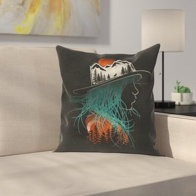 Aurora Throw Pillow Size: 18 x 18