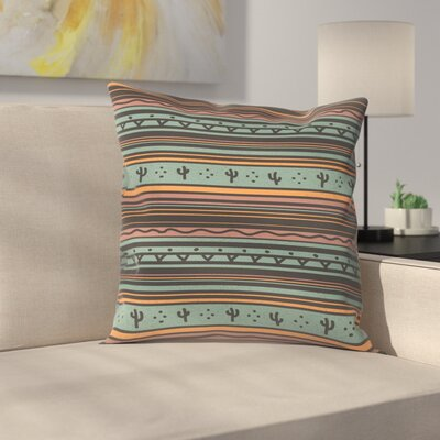 Desert Wind Throw Pillow Size: 18 x 18