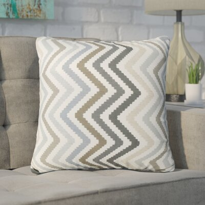 Swiger Chevron Square Indoor/Outdoor Throw Pillow