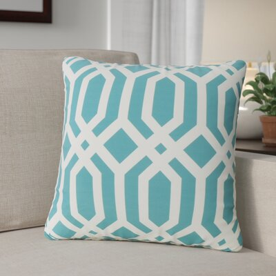 Trilby Square Outdoor Throw Pillow