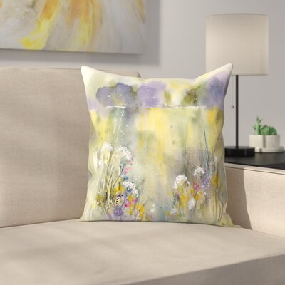 Summer Meadow Throw Pillow Size: 20 x 20