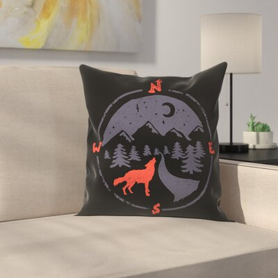 Call Of The North Throw Pillow Size: 16 x 16