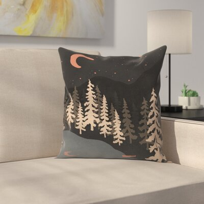 Ive Been Here Before Throw Pillow Size: 14 x 14
