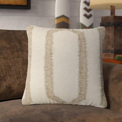 Lillard Wool Throw Pillow Color: Ivory