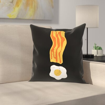 Bacon is Important Throw Pillow Size: 18 x 18