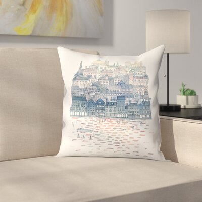 Serenissima Throw Pillow Size: 16 x 16