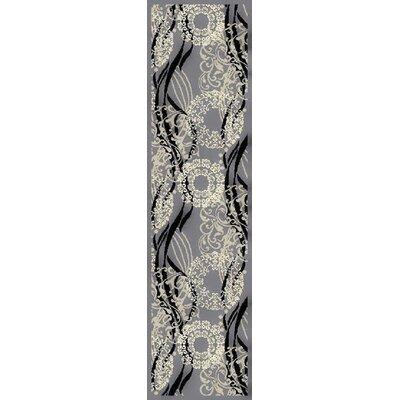 Ironstone Gray Area Rug Rug Size: Runner 2 x 8