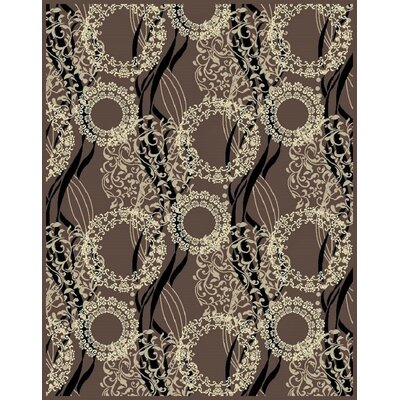 Inglaterra Brown Area Rug Rug Size: Rectangle 5 x 8