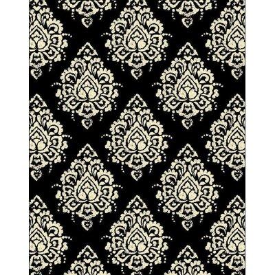 Falgout Black Area Rug Rug Size: Rectangle 2 x 3