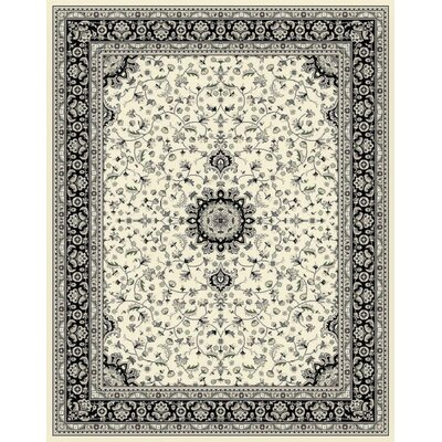 Falcone Cream Area Rug Rug Size: Rectangle 2 x 3