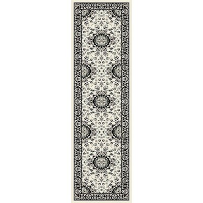 Falcone Cream Area Rug Rug Size: Runner 2 x 8