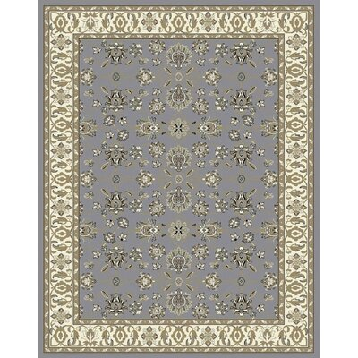 Fanelli Gray/Olive Area Rug Rug Size: Rectangle 5 x 8