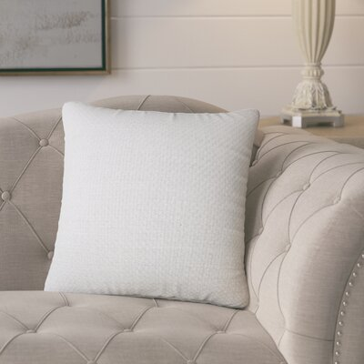 Glade Solid Throw Pillow Color: Chinchilla