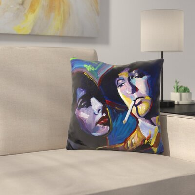 Robert Mitchum Film Noir Throw Pillow