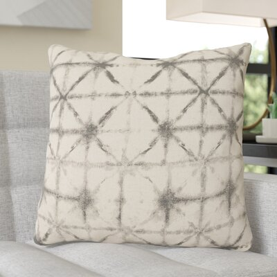 Middleton Throw Pillow Size: 22 H x 22 W x 4 D, Color: Charcoal/Beige