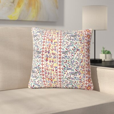 Victoria Krupp Arabesque Panel Abstract Outdoor Throw Pillow Size: 18 H x 18 W x 5 D