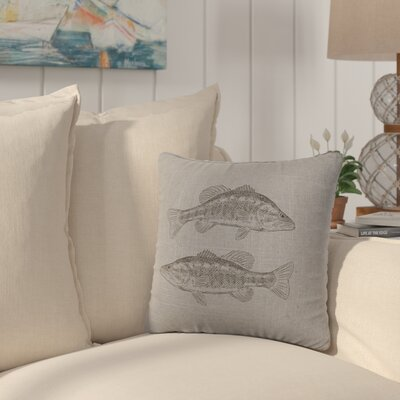 Eanes Throw Pillow Color: Gray